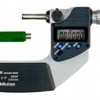 IP65 Mitutoyo 293-332-30 Digimatic Micrometer with SPC Output 2-3